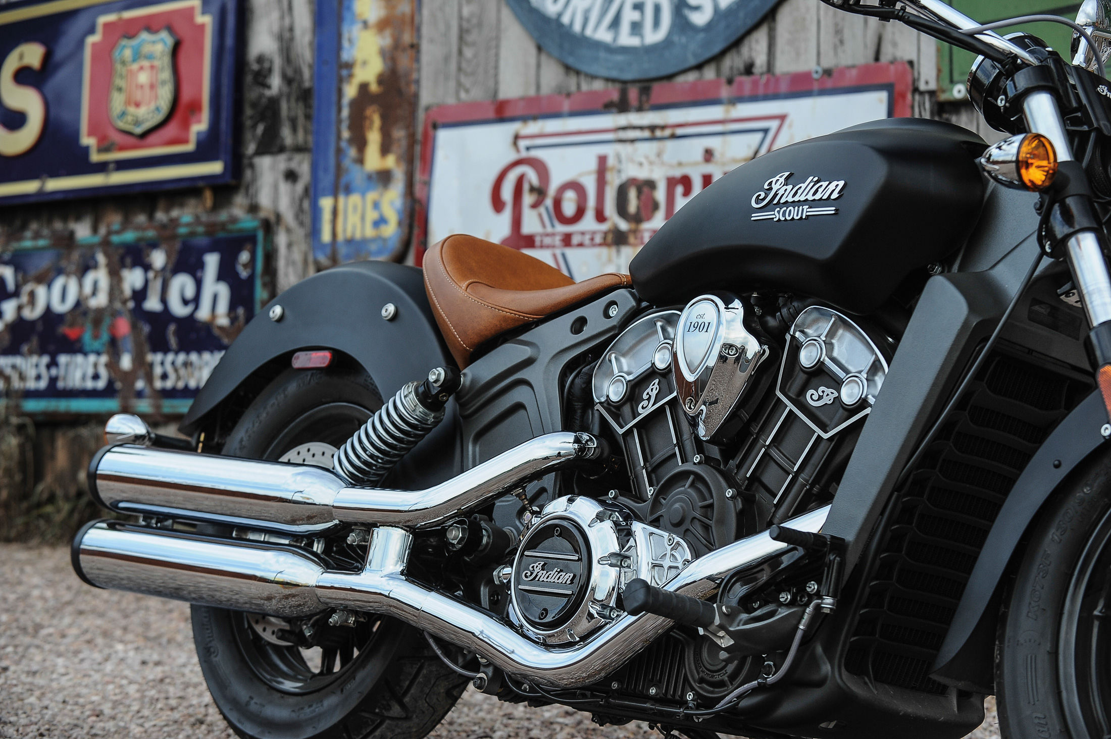 the indian scout motorcycle: a cruiser for when you don't want a