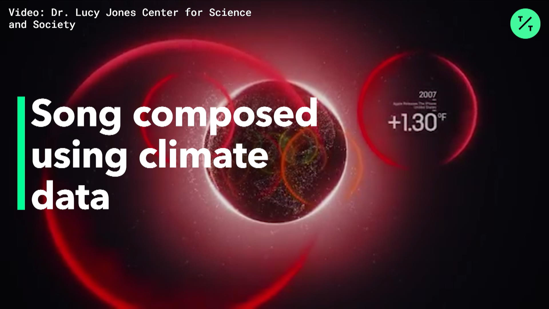 Song Composed Using Climate Data