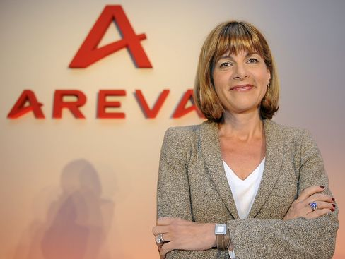 Areva SA CEO Anne Lauvergeon