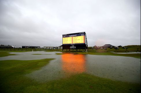 The Flooded 18th Hole