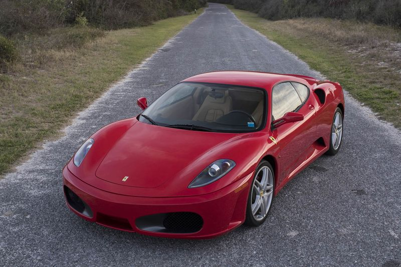 Trump's 2007 Ferrari F430 Coupe.