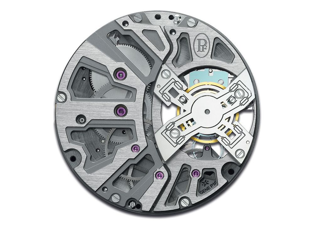 7c9253bdc Parmigiani Senfine Concept Watch Escapement  How It Works - Bloomberg