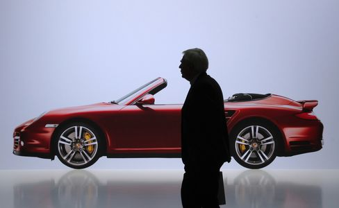 Porsche Plunges After VW Merger Held Over Suits