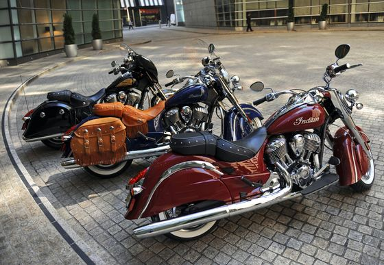 Indian Motorcycle Taps 100-Year Roots With Japan Relaunch
