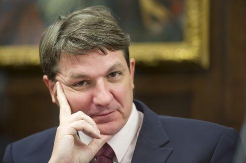 Slovenian Finance Minister Janez Sustersic