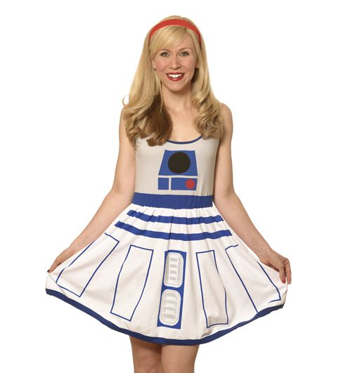 Ashley Eckstein, a voice of one of the new Super Hero Girls, started a company selling fangirl apparel, Her Universe.