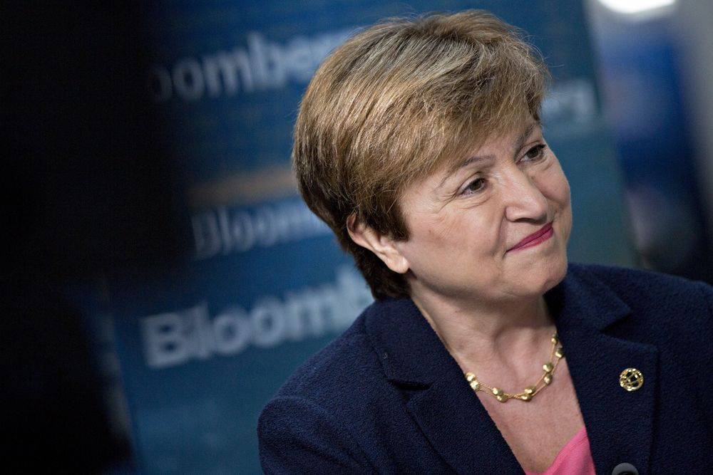 Georgieva Tapped as EU Candidate to Lead IMF After Bitter Vote - Bloomberg