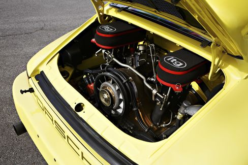 The 1974 Porsche 911 Carrera.