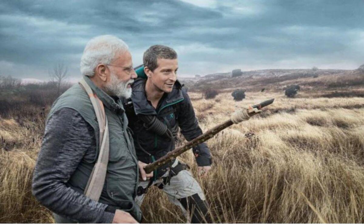 Indian Prime Minister Modi Takes On Bear Grylls' 'Man vs. Wild'
