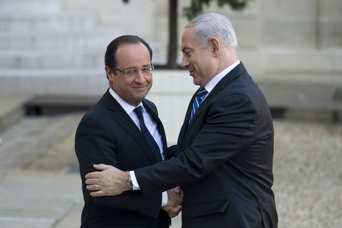President Hollande and Prime Minister Netanyahu