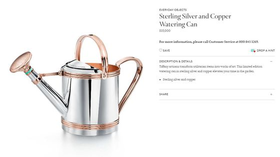 Tiffany's $35,000 Watering Can Could Be Under Your Tree This Christmas