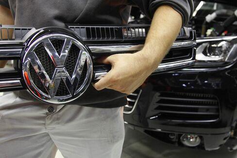 Inside Volkswagen Plant