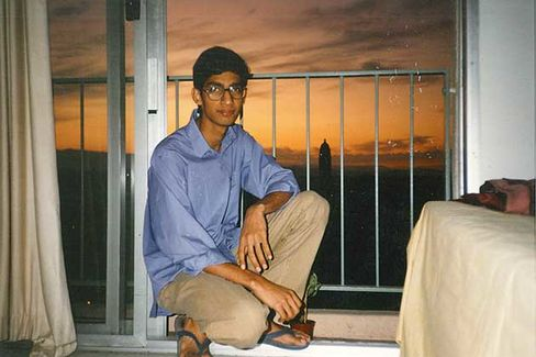 Pichai at the Stanford University dorms in 1994
