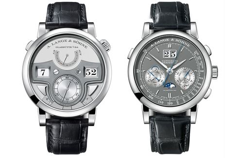 Last year A. Lange & Söhne released both a decimal minute repeater and a new perpetual calendar chronograph.
