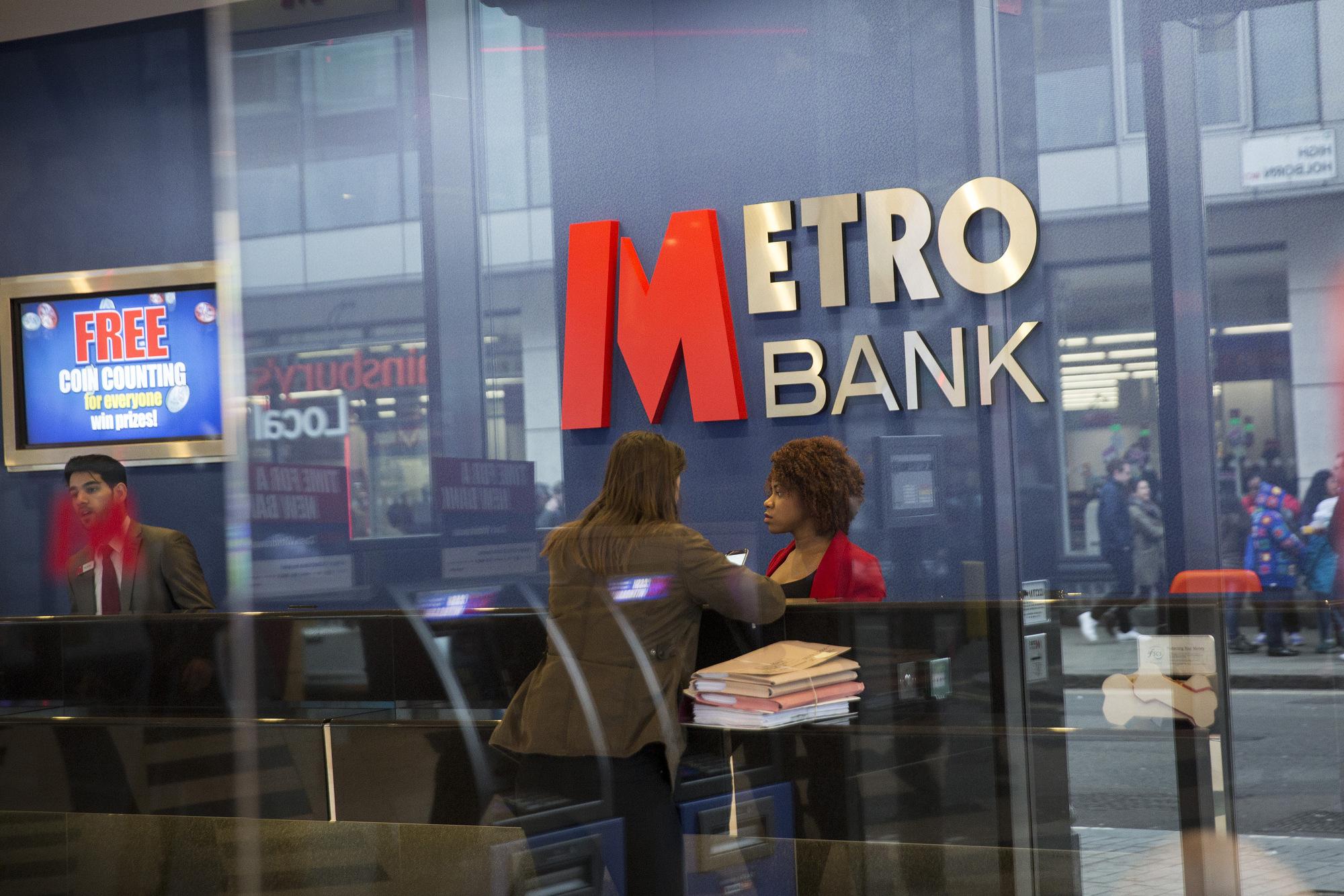Metro Bank Shares Plunge to Record Low as Regulators Circle