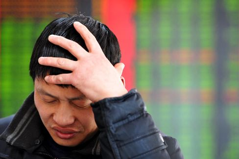 China's Stock Markets Fall On Fears of a Real Estate Crackdown
