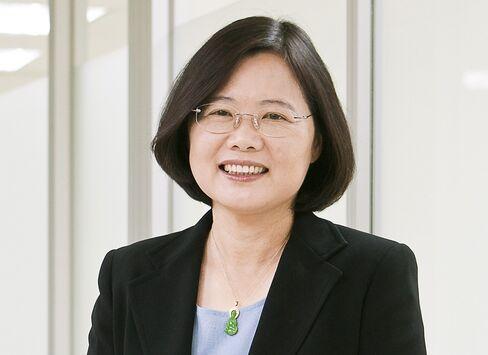 Presidental Candidate Tsai Ing-wen