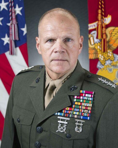 U.S. Marine Gen. Robert B. Neller.