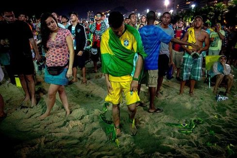 Brazil's World Cup Loss May Yet Be Dilma's Gain