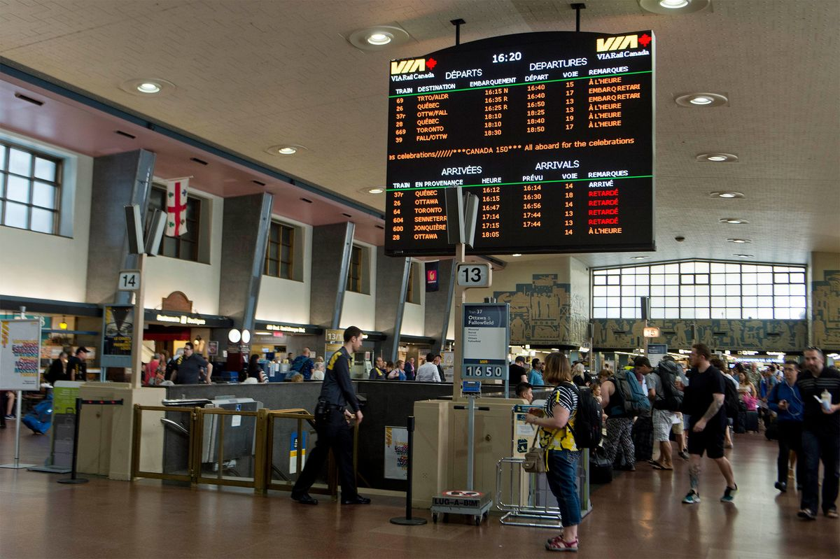 Cominar Hires Banks for Sale of Montreal's Central Station