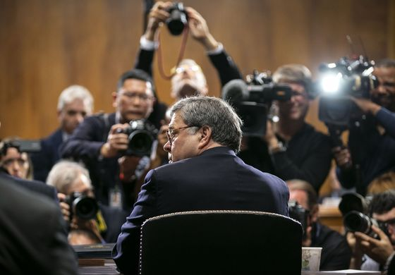 Barr Says Trump May Cite Executive Privilege on Mueller Report