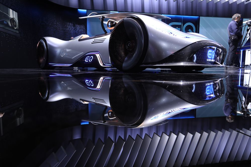 The Best Cars Of The Paris Motor Show Bloomberg - Car show cars