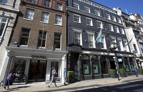 Luxury Street's Space Squeeze Drives London Retailers Upstairs