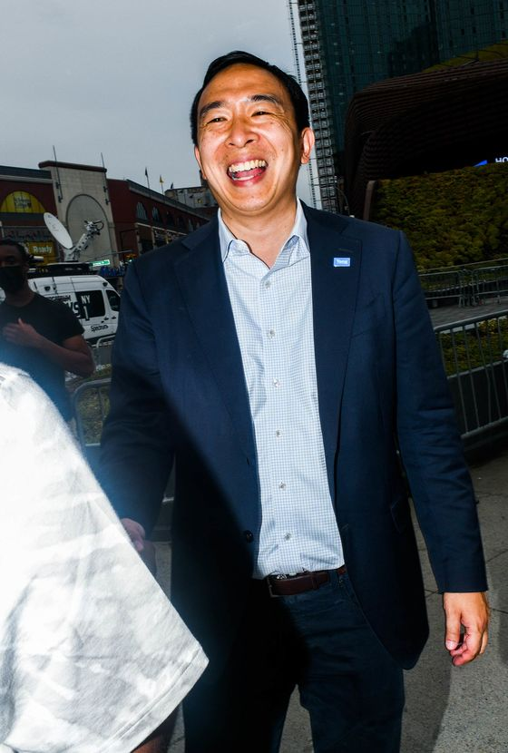 Andrew Yang Hopes to Ride His Free-Money Plan to NYC's City Hall