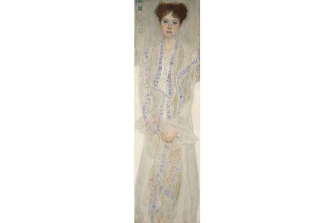 Gustav Klimt, Bildnis Gertrud Loew (Gertha Felsöványi), 1902