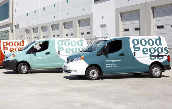 Startup Good Eggs Raises $100 Million for Expansion to L.A.