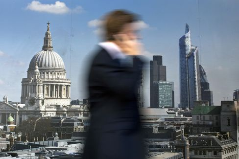London Jumps to Second Behind NYC in PwC Rank of Finance Cities