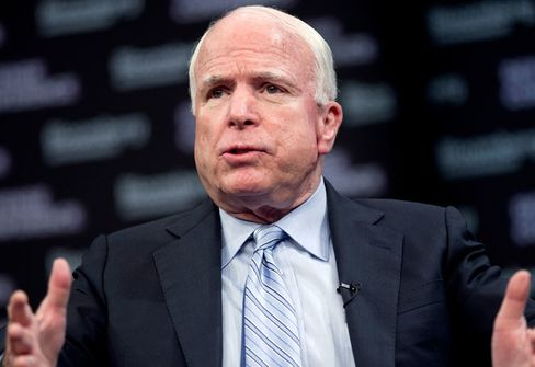 McCain Says Revenue Increase Possible to Avoid Pentagon Cuts