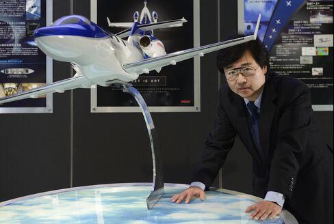Honda Aircraft President Michimasa Fujino
