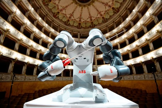 ABB's Potential Breakup Heralds Robots, Windfall for Swiss Giant