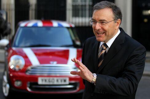 Bayerische Motoren Werke AG CEO Norbert Reithofer