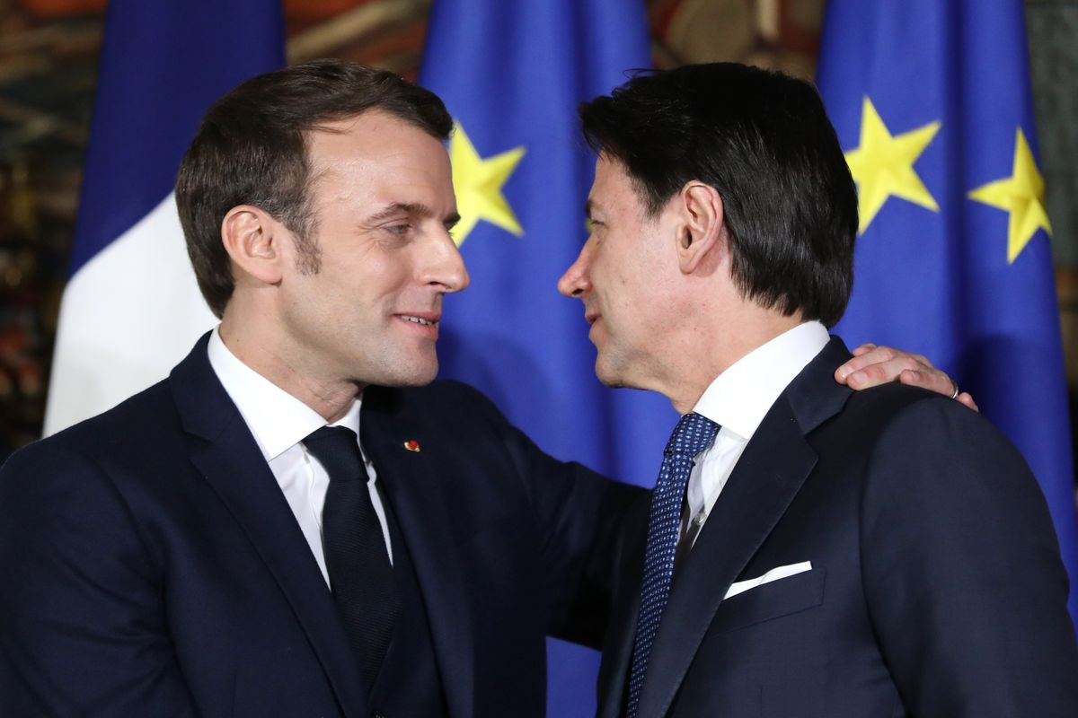 France, Italy Step Up Push For Crisis Tools Resisted by Germany