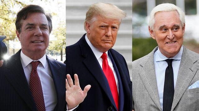 Trump Pardons Ex-Campaign Chief Manafort, Adviser Roger Stone - Bloomberg