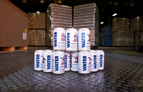 Anheuser-Busch Preps for Bad Fire Season With Pre-Shipped Water