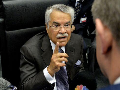 Saudi Oil Minister Ali al-Naimi.