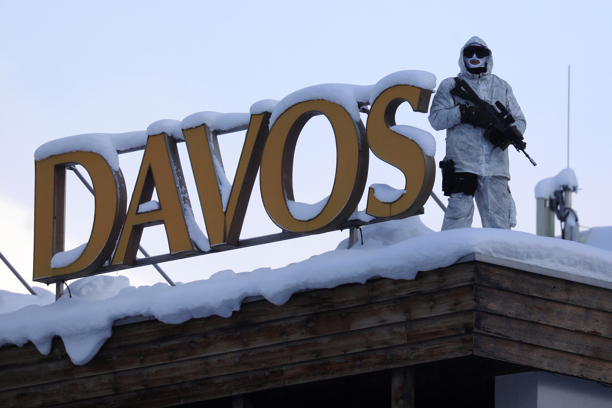 Davos Votes on WEF Police Bill With Some Saying They're Fed Up - Bloomberg