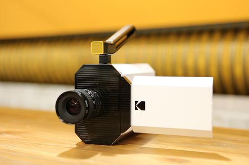 Kodak's newest concept camera shoots Super 8 film but with digital assistance.