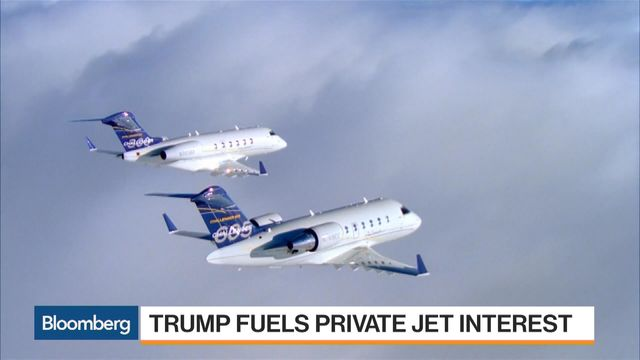 Theyre Giddy In The PrivateJet Industry At Dawn Of Trump Era  Bloomberg