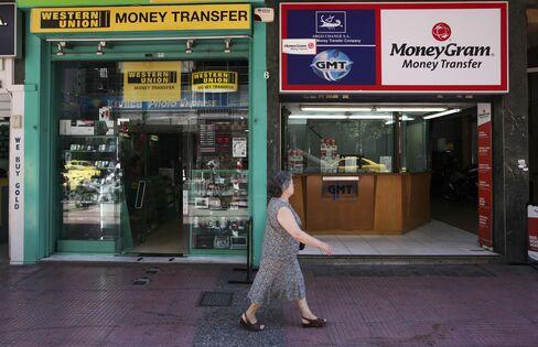 MoneyGram Seen Cashing In at Decade's Highest Premium