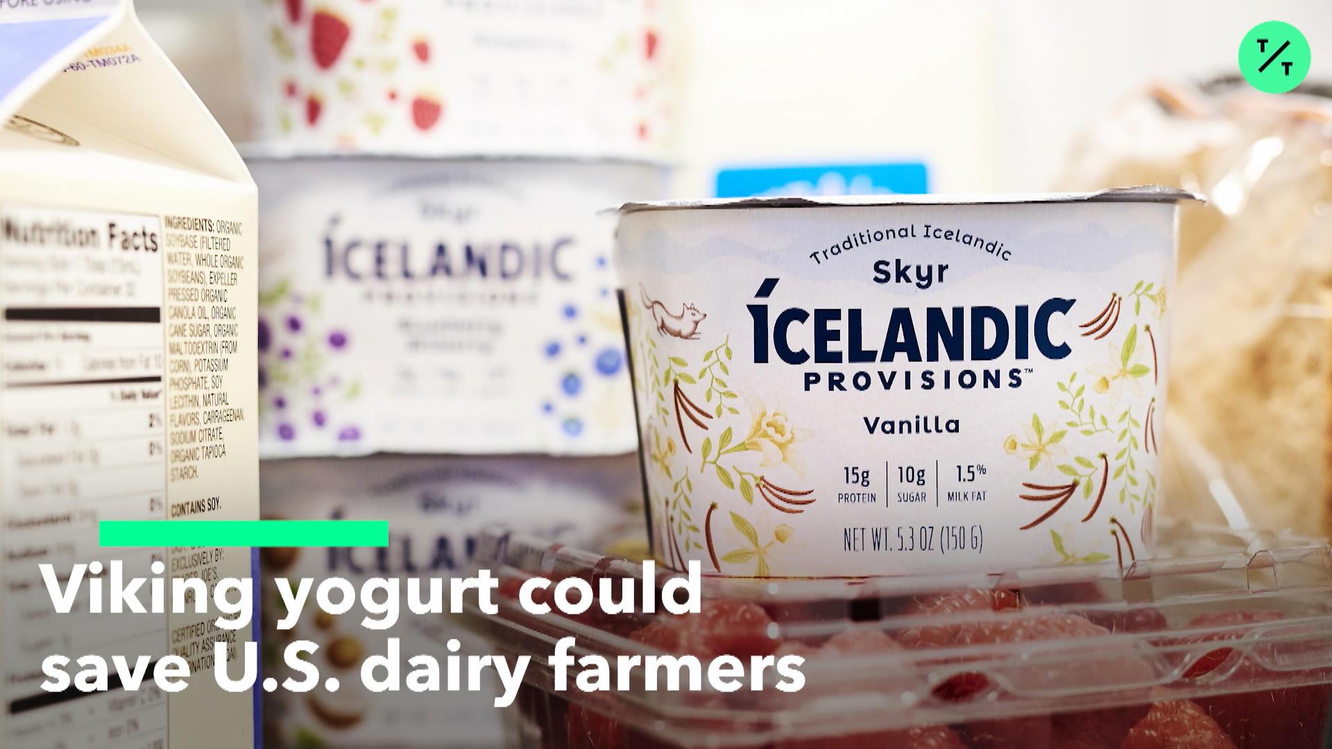 Iceland's Skyr Helps U.S. Dairy Farmers