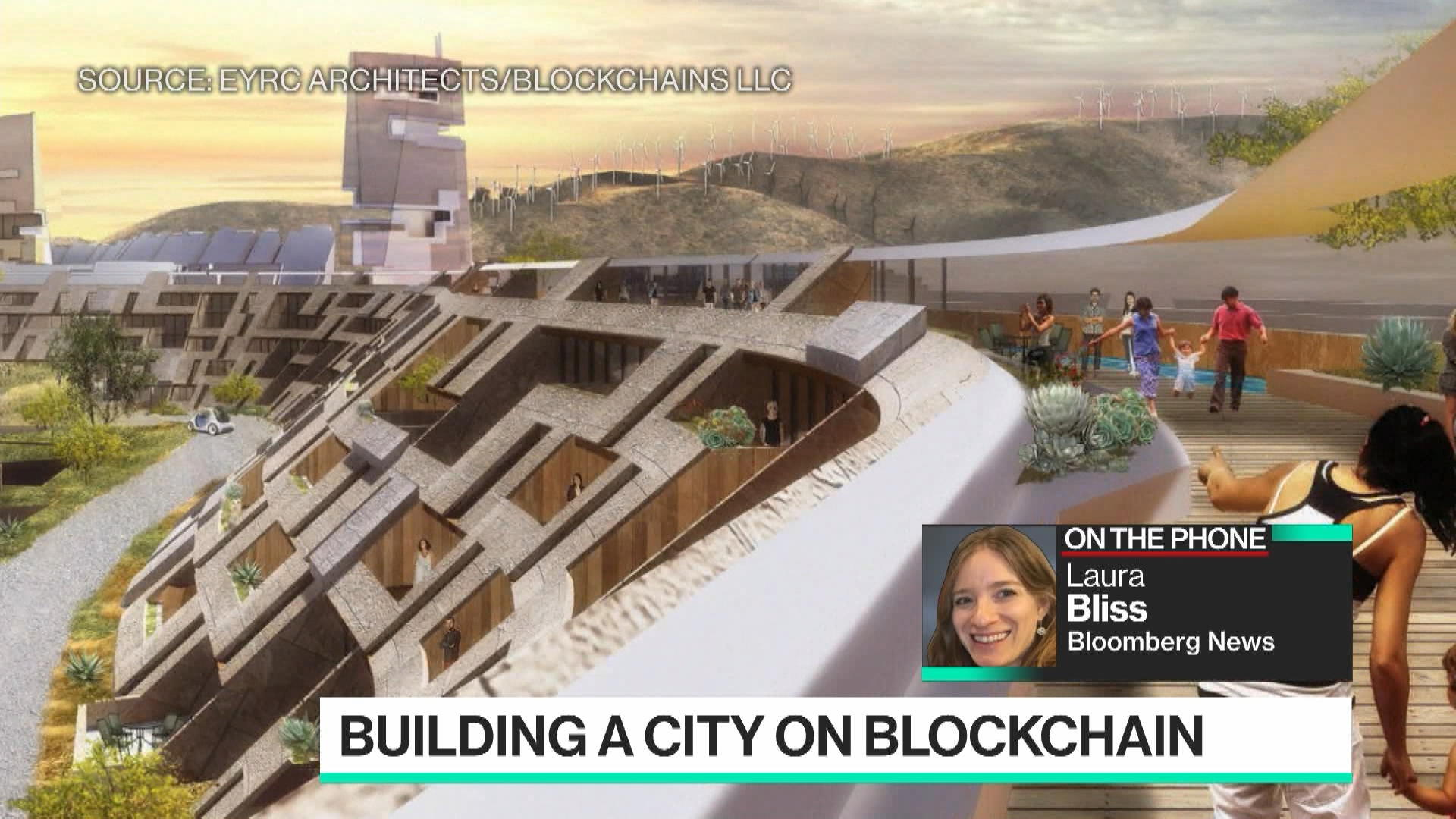 Building a City on Blockchain