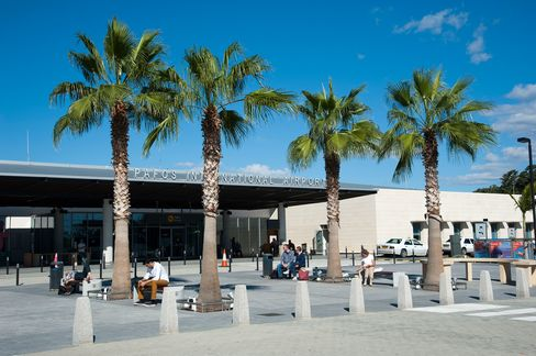 Pafos International Airport Paphos Cyprus