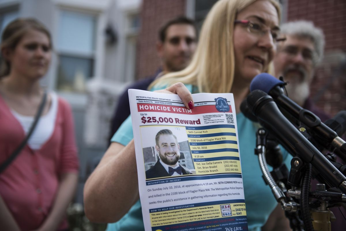 Twitter Must Unmask User Tied to Seth Rich Murder Conspiracy