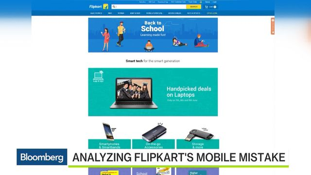 India's Flipkart Has an Amazon Problem - Bloomberg