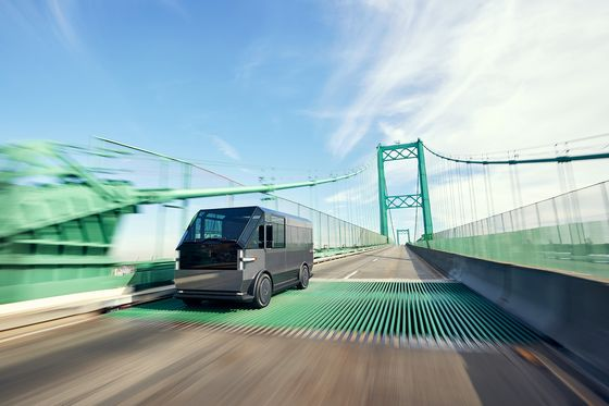 EV Startup Canoo Fast-Tracks Launch of Commercial Delivery Van