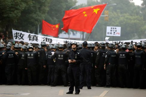 Protests in China Get a Boost From Social Media